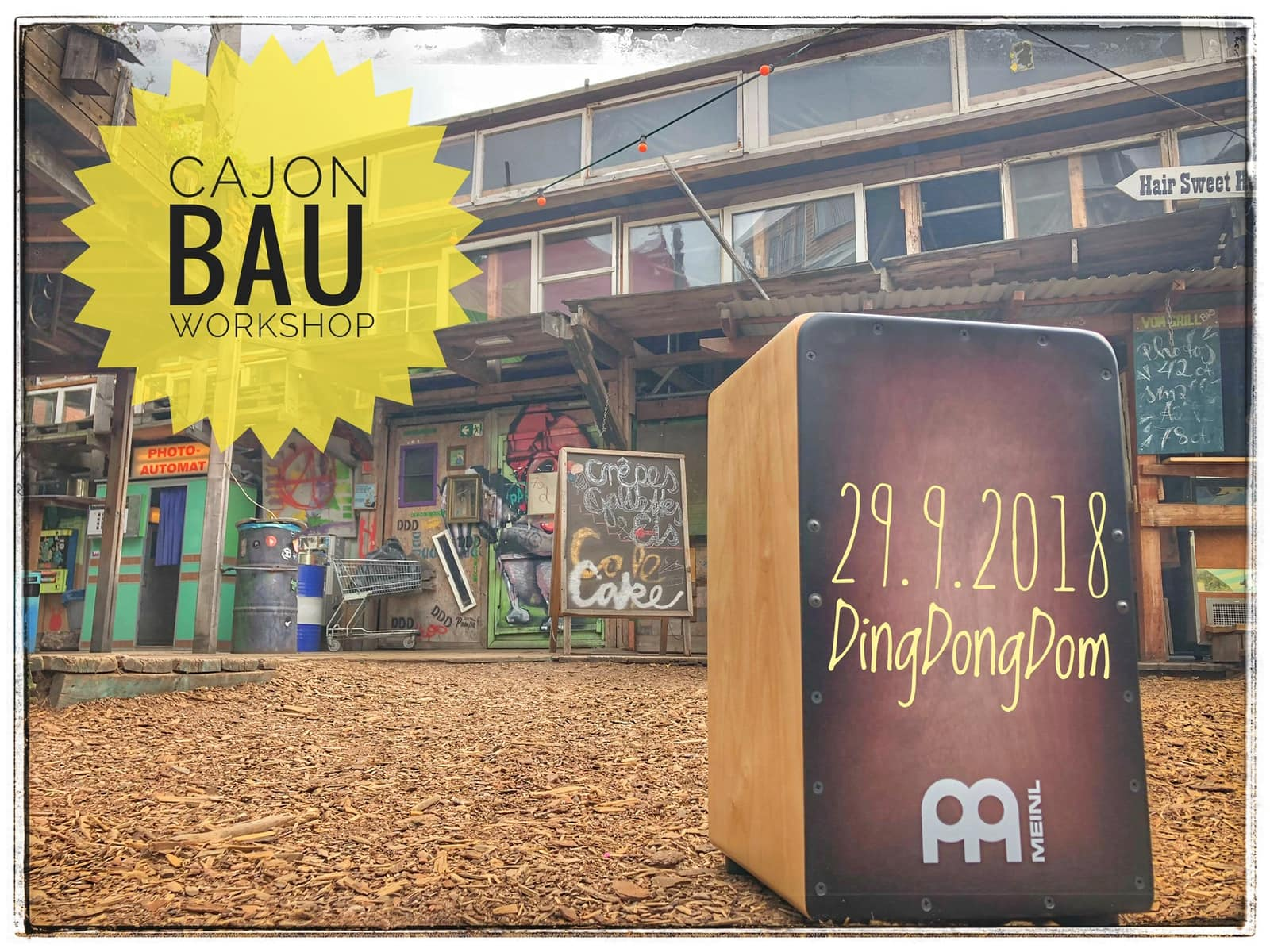 Cajon-Bau-Workshop