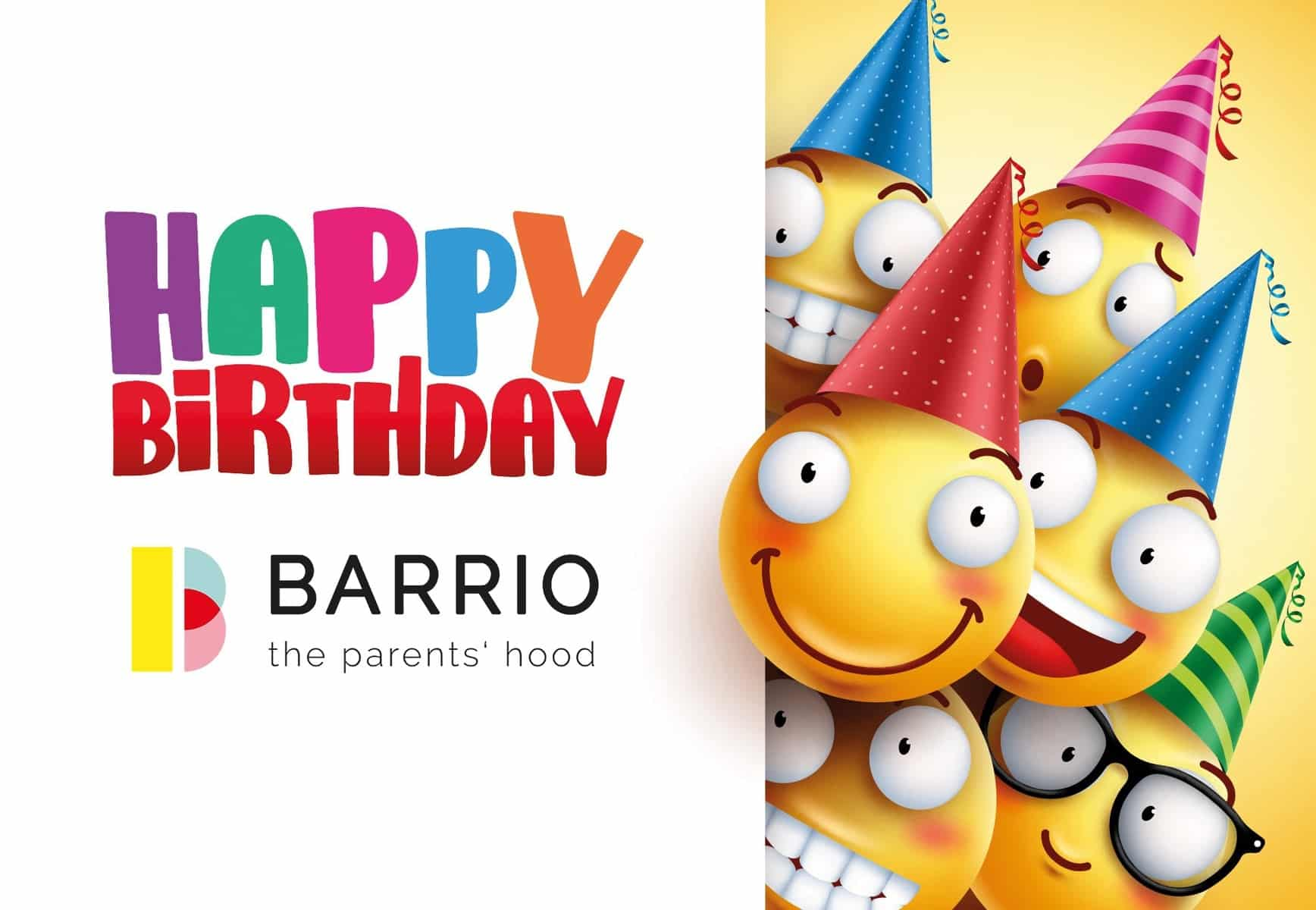 Happy Birthday BARRIO