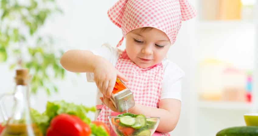 Unfortunately, the myth that children have less nutritional requirements due to their smaller size still persists. This is true in terms of the amount