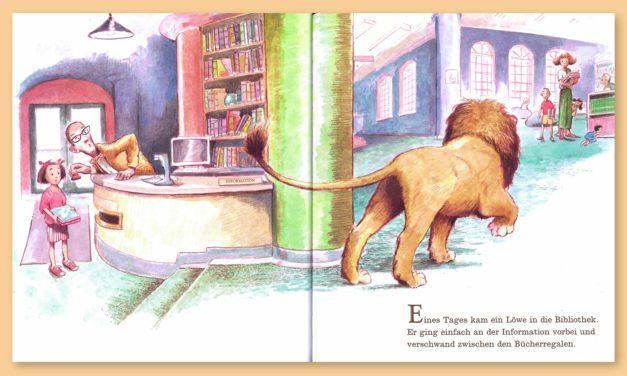 Neuerscheinung: Ein Löwe in der Bibliothek